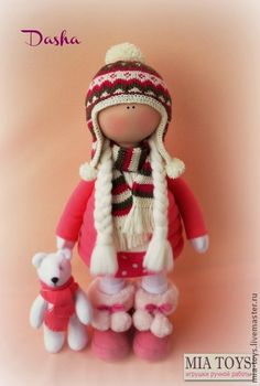 Коллекционные куклы ручной работы. Ярмарка Мастеров - ручная работа Кукла Даша. Handmade.