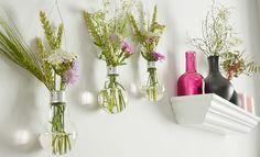 Glühbirnen upcycling - aus ausgebrannten Glühbirnen basteln wir tolle Vasen! bulb, DIY