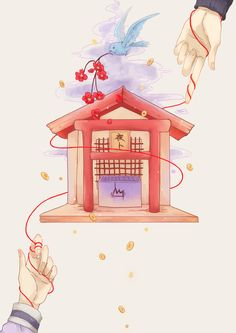 Yato x Hiyori [by http://www.pixiv.net/member_illust.php?mode=medium&illust_id=43584552]