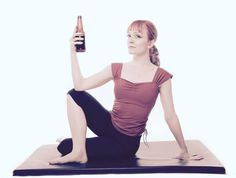 Rage Yoga ~ The practice involves beer, cursing, and heavy metal music.