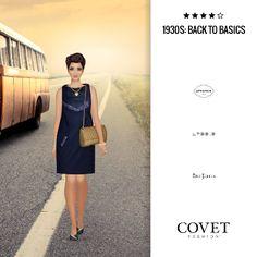 ✨Covet Fashion   Event/Theme: 1930s: Back to Basics✨