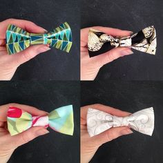 New bow ties in the shop NOW!  #doggybowtie #dogbowtie #cutedog #dressupyourdog #etsy by little_green_caravan