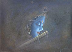 The divine grace. Krishna Hindu, Jai Shree Krishna, Krishna Love, Radhe Krishna, Lord Krishna, Lord Shiva, Krishna Drawing, Krishna Painting, Radha Krishna Wallpaper
