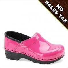 Dansko Kids Gitte Clog Pink Bubblegum  Love the color! Love these ..best shoes ever!
