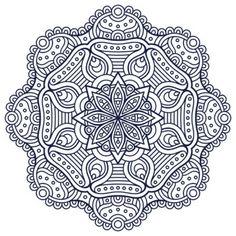 mandalas budistas para colorear pintar