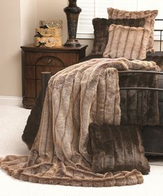 Another great find on #zulily! Redfox Faux Fur Signature Throw by Donna Salyers' Fabulous-Furs #zulilyfinds