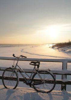 Auf der Seebrücke auf der Insel Usedom