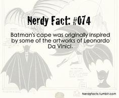 Well, given that he's just Zorro and Zorro used Da Vinci's designs, I'm not surprised. -SB