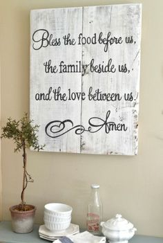 """""""Blessing"""" wood 24x30 {customizable}"""