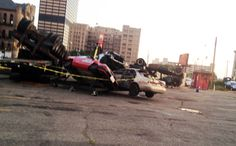 "Detroit gets ""Transformed"" Filming for Transformers 4 in downtown Detroit."