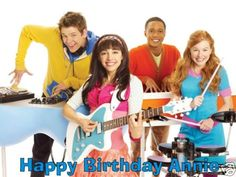 A Fresh Beat Band party would be great for your child's next birthday celebration.
