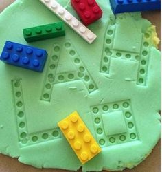 learning games - exploring Lego and play dough. This is a great activity for sensory play, imaginative play, letter recognition and sight words. This would be great to use in an autism classroom while learning long vowel sounds with silent E. Toddler Learning, Preschool Learning, Toddler Activities, Learning Activities, Preschool Activities, Preschool Sign In Ideas, Autism Preschool, Learning Games For Preschoolers, Toddler Learning Activities