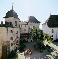 Lenzburg Castle Courtyard