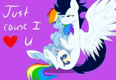 Happy Mother's Day Rainbow Dash and Happy Mother's Day to every mom in the world! Because I Love You, L Love You, Rainbow Dash And Soarin, Happy Mothers Day, My Little Pony, Disney Characters, Fictional Characters, Weird, Fan Art