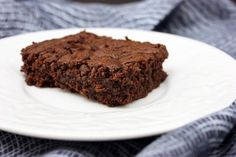 Tasty Eats at Home » Kids In The Kitchen: Peanut Butter Brownies (Gluten-Free, Dairy-Free)