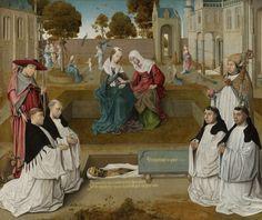 Memorietafel, Meester van Spes Nostra, ca. 1500