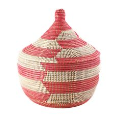 Cute and might be good with the other 2 your got.  Great price!!     Prayer Mat Warming Basket Pink - Swahili Imports - $36.00 - domino.com