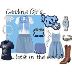 Carolina girls !  #UNC #Tarheels