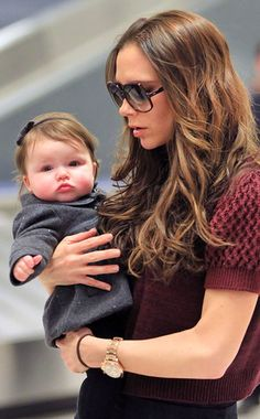 Victoria and Harper Beckham, proof that you and your baby can be stylish
