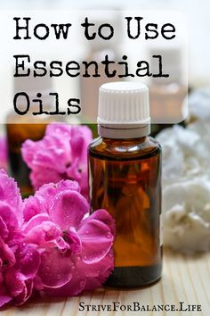 How to use essential oils.  Ever wonder what to do with essential oils?  Here are the three best ways to use essential oils.