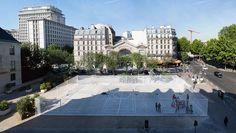 NP2F Architectes Playground temporaire Paris 2014