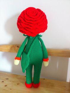Rose Roxy made by Muoi T / amigurumi pattern by Zabbez