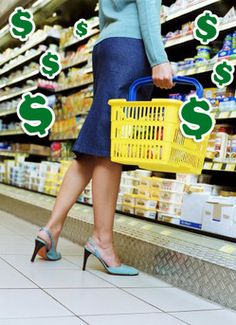 Food Shopping On a Budget for single person | Smart Grocery Shopping on a Budget.