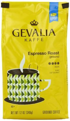 Gevalia Roast and Ground Coffee Espresso 12 Ounce Pack of 6 -- Want to know more, click on the image.