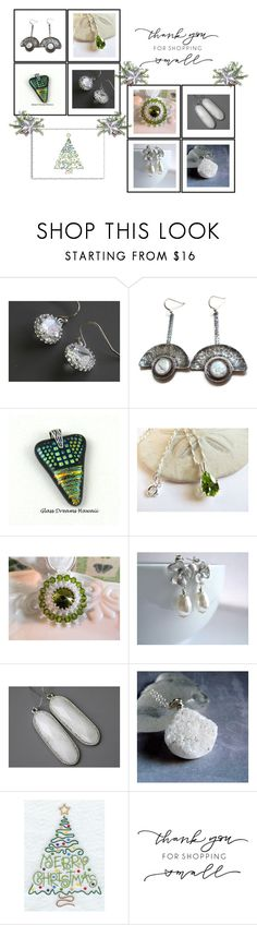 """""""Lovely Gifts!"""" by keepsakedesignbycmm ❤ liked on Polyvore featuring Moneta, Hostess, etsy, jewelry and accessories"""