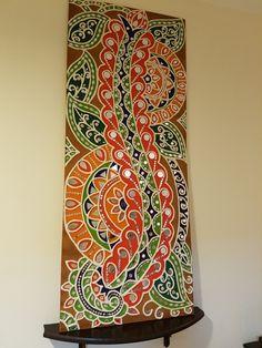 Clay Wall Art, Mural Wall Art, Hanging Wall Art, Madhubani Art, Madhubani Painting, Clay Art Projects, Indian Folk Art, Indian Art Paintings, Art Corner