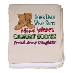Daddy's boots Army Daughter Military baby blanket by CafePress - Petal Pink by CafePress, http://www.amazon.com/dp/B009TUEWC4/ref=cm_sw_r_pi_dp_CR.Tqb1A1AZ7E