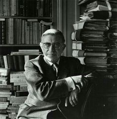 French writer and philosopher Jean-Paul Sartre