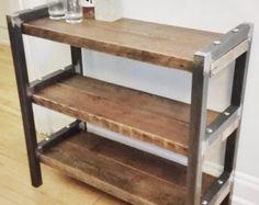 Récupéré le bois et le banc en métal le banc Post par WageofLabor