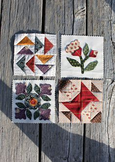 Temecula Quilt Co - like this idea of alternating quilt blocks with applique blocks