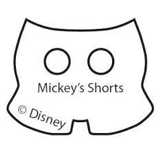 Mickey Mouse Pants Outline Looking For A Mickey Hand