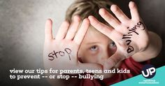 October is Bullying Prevention Awareness Month. Use these tips for parents, teens and kids to prevent bullying or put it to a stop.