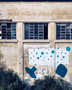 Dead things drawn upon other dead things. #graffiti #fabriziogarda #mytinyatlas #dailyillustration #torinoèlamiacittà