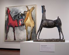 Mario Marini, Horse with Head Looking Up - Milwaukee Art Museum. Milwaukee Art Museum, Art Graphique, Drawing Techniques, Art History, Contemporary Art, Moose Art, Sculpture Ideas, Horses, Abstract