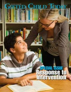 Article from Gifted Child Today (Spring 2005)  on Gifted Underachievement.  Includes research-backed suggestions for programs for underachievement that could be developed in collaboration with teaching staff and administrators.