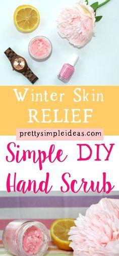 Simple DIY Hand Scrub