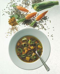 Linsen-Curry-Suppe - smarter - Kalorien: 270 Kcal - Zeit: 1 Std. 45 Min…