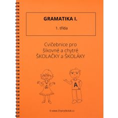Gramatika I - 1. třída Thing 1, Prepositions, Home Schooling, Math Worksheets, Best Sellers, Alphabet, Language, Notes, Teacher