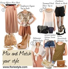 """""""Mix and Match Your Style"""" by floriestyle on Polyvore"""