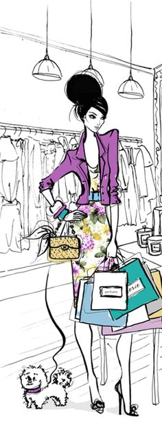 ♔ i l l p o p {fashion illustration} Megan Hess