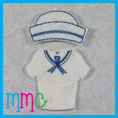 Boys Sailor Set 4x4