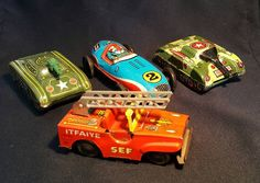 Old Toys, Car, Automobile, Old Fashioned Toys, Cars