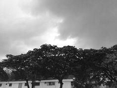 Nubes de sábado.