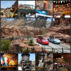 Radiator Springs Racers in Cars Land.  Such an exciting experience. #BraveCarsLand #twotravelingmoms