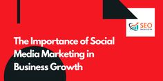 Check if you want to know the importance of social media marketing in business growth #SEOWarriors #SocialMedia #socialmediamarketing #marketer #businessgrowth #sales Social Media Marketing, Digital Marketing, Lead Generation, Letters, Business, Check, Letter, Store, Lettering