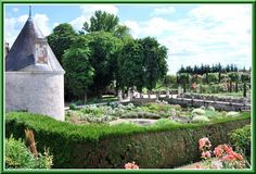 Les jardins - Château de la Chatonnière (37) Indre et loire